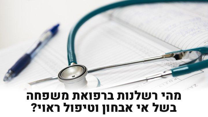 רשלנות ברפואת משפחה